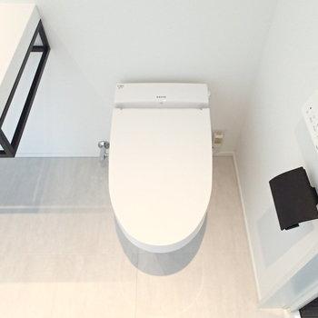 トイレもすっきり。
