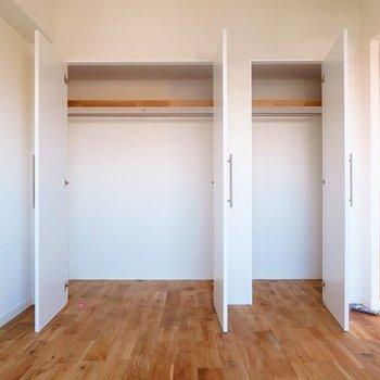 【イメージ】収納はたっぷりです! ※小さい収納は寝室向きに開く予定です!