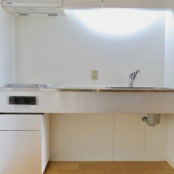 スマートなキッチン ※写真は別部屋