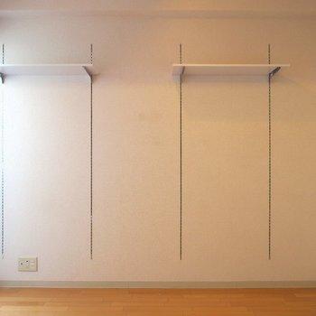 可動棚もついてます! ※写真は10C号室です。