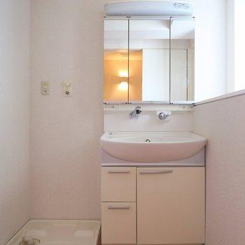もちろん、独立洗面台だってございます! ※写真は10C号室です。