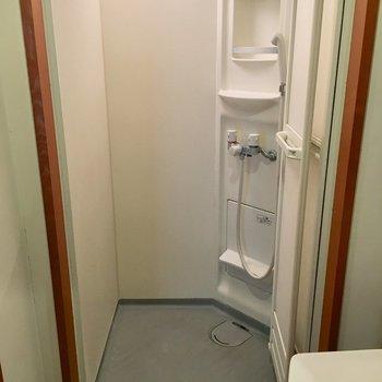 そして、お掃除の簡単なシャワールーム!
