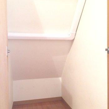 階段下の空間を有効活用。※写真は前回募集時のものです