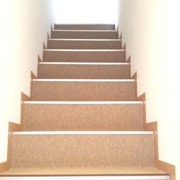 階段を登って・・・※写真は前回募集時のものです