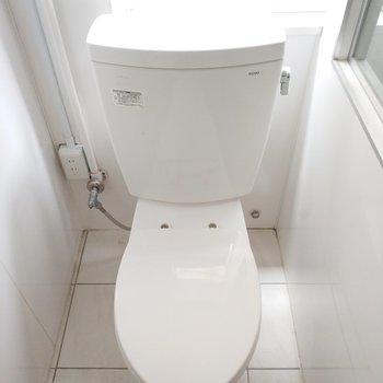 お手洗いはシンプルです。
