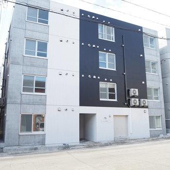 おしゃれな外観な新築マンション
