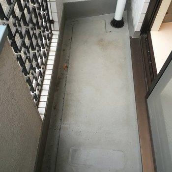 洗面所側バルコニーです! ※写真は別部屋です