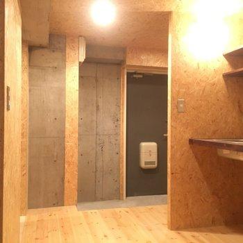 キッチンスペースも広い! ※写真は別部屋です