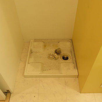 室内洗濯機置き場は不可避!