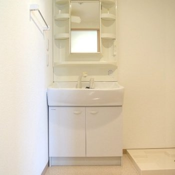 洗面台もしっかり※写真は前回募集時のものです。