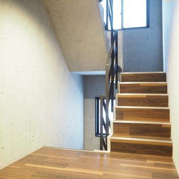こんな感じの階段