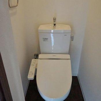 トイレも綺麗~!!