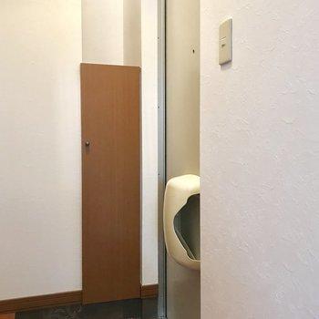 玄関は小さめかも!