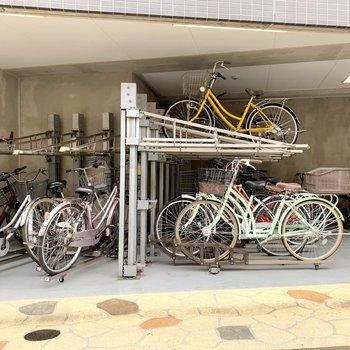 駐輪場もあるのでご利用くださいね。