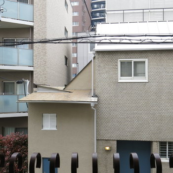2階なんで眺望は、、、。※写真は前回掲載時のものです。