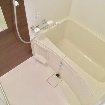 バスルームもシンプルに