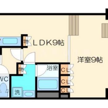 ステップフロアでそれぞれのお部屋の空間利用!