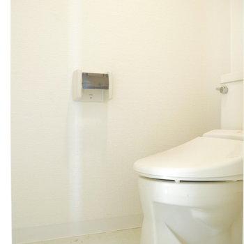 トイレはシンプルに◎ ※クリーニング前のものです