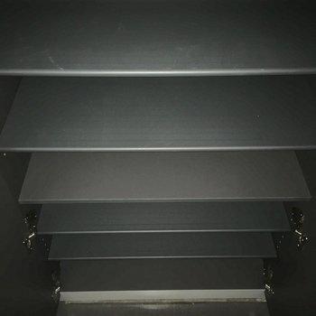 シューズボックスも容量たっぷり※フラッシュ撮影※クリーニング・電気が付く前の写真です