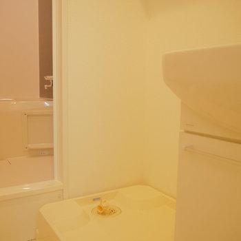 洗濯機は脱衣場に!※写真は前回募集時のものです