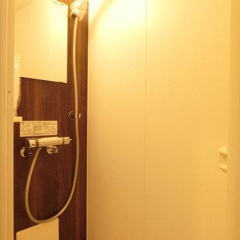 シャワールームも