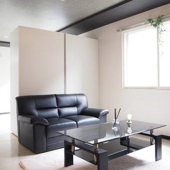 モダンな家具がお似合い※写真は前回募集時の写真 家具は付いてません。
