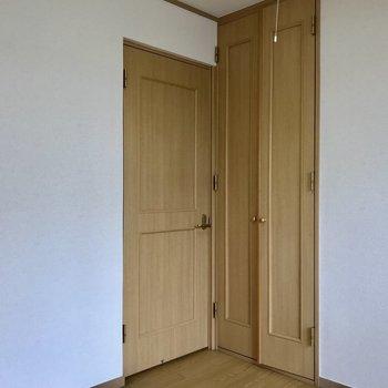 【4.5帖洋室】趣味の部屋にもいいですね。※写真は3階の反転似た間取り別部屋のものです