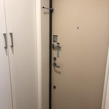 ちょっぴりクリーム色の扉