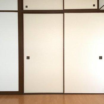 まずは洋室。4.5帖とややコンパクト。※写真は別室です。