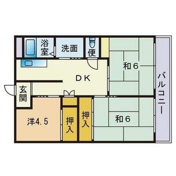 和洋折衷なお部屋です。