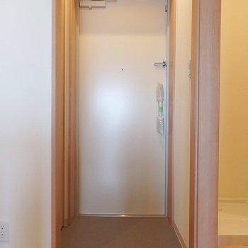 玄関はこんな感じ。 ※写真は別部屋