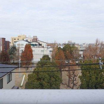 眺望はこんな感じ。 ※写真は別部屋4階から