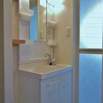 きれいになった洗面台※写真は前回募集時のもの。