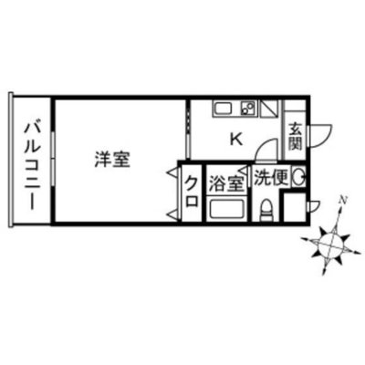 フィオーレ茅ヶ崎 の間取り