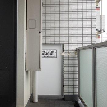 外干しできますよ。※写真は2階の反転間取り別部屋のものです