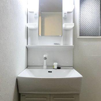 独立洗面台はきれいなものです!