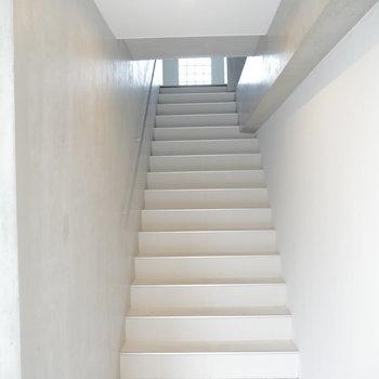 3階までがんばりましょう!