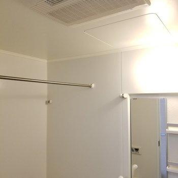 浴室乾燥機も付いています!