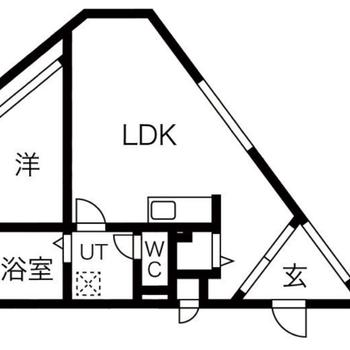 LDKは10帖洋室は3.5帖!