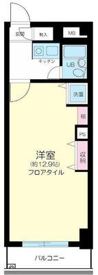 コスモ西横浜グランシティ の間取り
