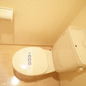 トイレはフツウ※写真は6階の同間取り別部屋のものです