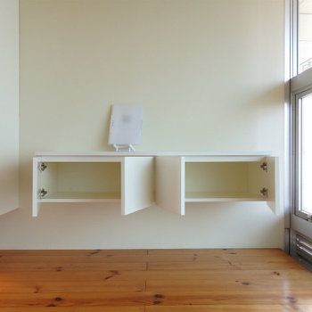 キッチン奥のスペース。※写真は似た間取りの5階のお部屋のものです