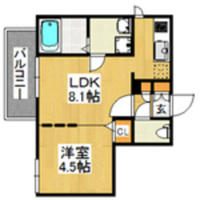 Branche藤崎 藤崎駅の間取り図