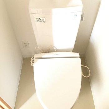 トイレはシンプルな感じ。