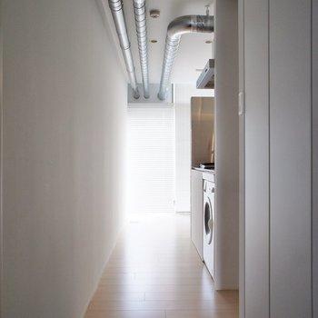 玄関から、まばゆい※写真は4階の同じ間取りの別部屋になります。