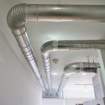 配管がかっこいいね!※写真は4階の同じ間取りの別部屋になります。