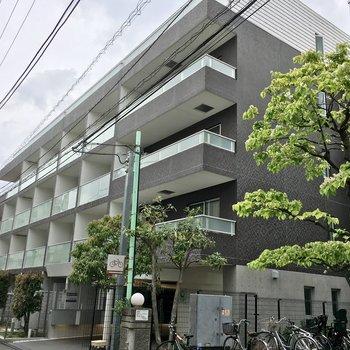 5階建ての鉄筋コンクリートマンション。