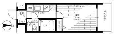 ステージグランデ新高円寺 の間取り