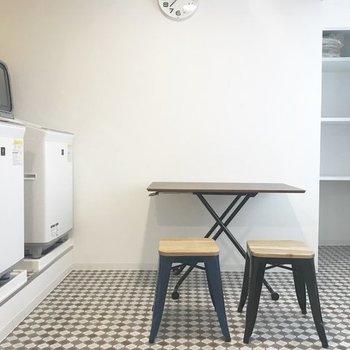 洗濯機・乾燥機設置!しかも無料で利用できます♪※写真は前回募集時のものです
