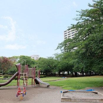 周辺には公園も多いですよ!